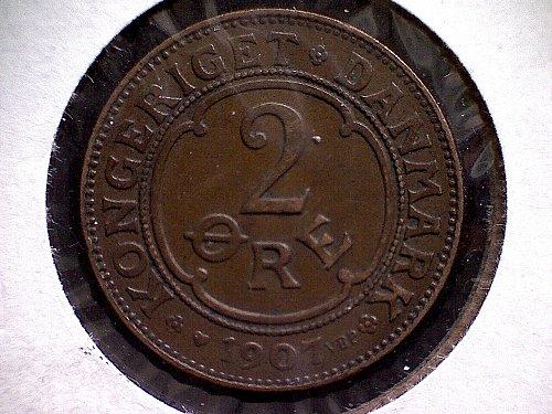 1907H DENMARK TWO ORE
