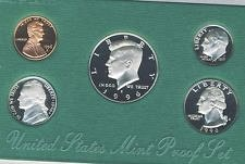 1996 S PROOF KENNEDY HALF DOLLAR