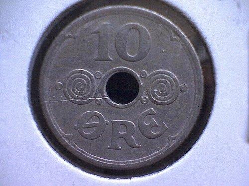 1931H DENMARK TEN ORE