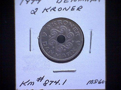1994 DENMARK TWO KRONER