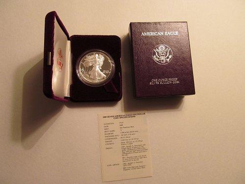 1989 S American Eagle #6E