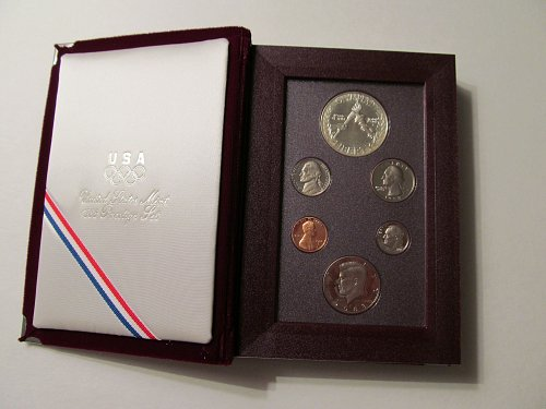 1988 S Prestige Proof Set