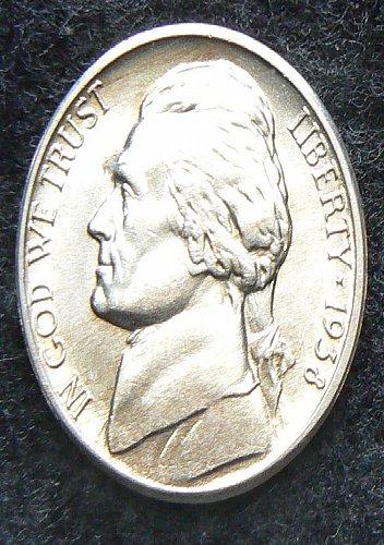 1938 D Jefferson Nickel