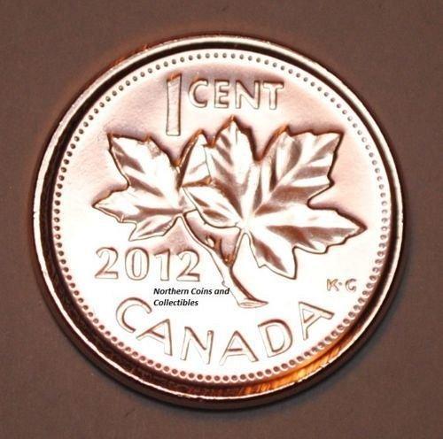 2012 canada gem b/u penny
