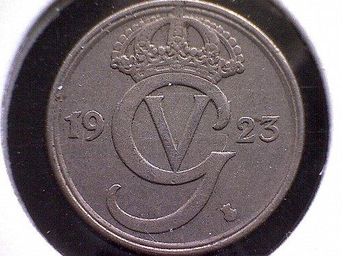 1923W SWEDEN TEN ORE