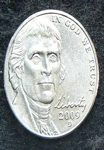2009 D Jefferson Nickel