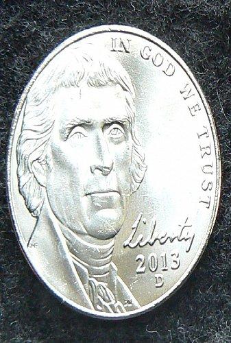 2013 D Jefferson Nickel