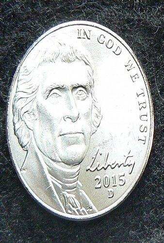 2015 D Jefferson Nickel