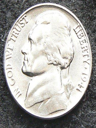 1941 P Jefferson Nickel FS