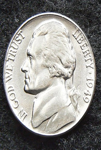 1949 P Jefferson Nickel FS