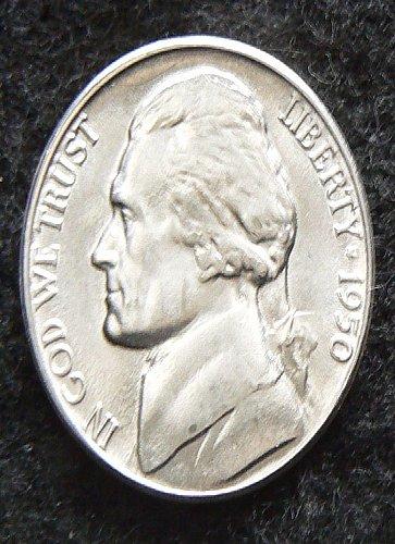 1950 D Jefferson Nickel FS