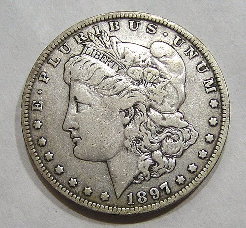 1897-O Morgan Dollar - XF Condition