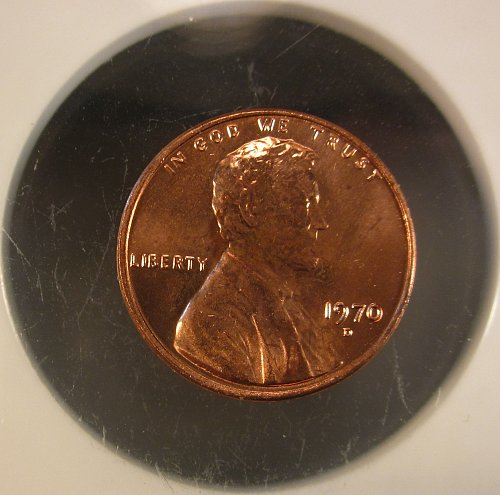 1970 D Lincoln Cent Small Cents – Nice Penny