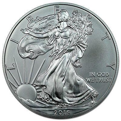 Roll of 20 - 2015 1 Troy Oz .999 Silver American Eagle Coins SKU33772