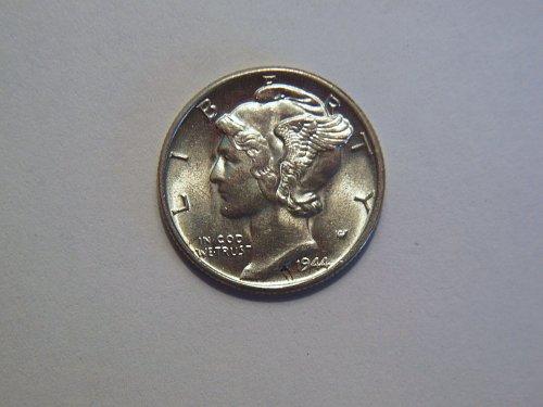1944-P Silver Mercury Dime
