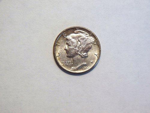 1944-D Silver Mercury Dime