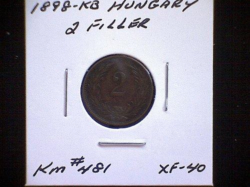 1898-KB HUNGARY TWO FILLER