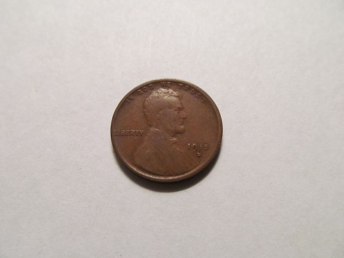 1915 D Lincoln cent #2