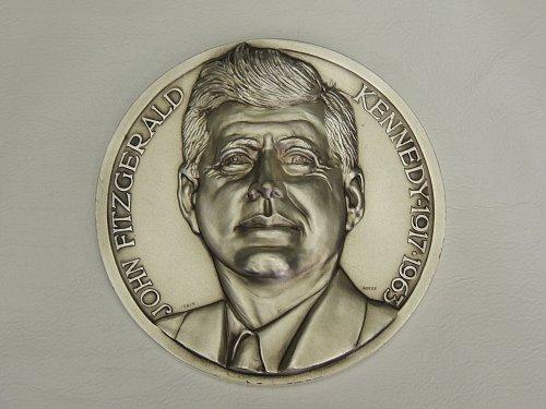 John F Kennedy Medallion (50mm) by Lorioli
