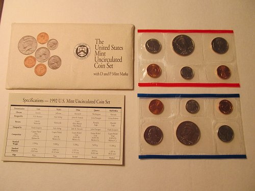 1992 US Mint Uncirculated set
