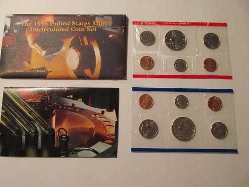 1995 US Mint Uncirculated Mint Set