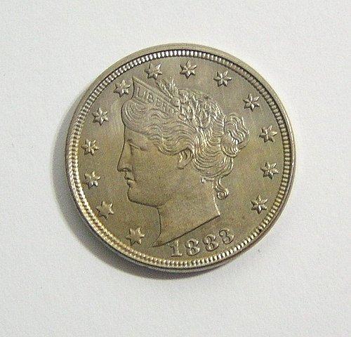 1883 Liberty Nickel - No Cents - Uncirculated