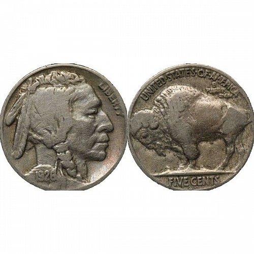 1926 S Buffalo Nickel - Fine