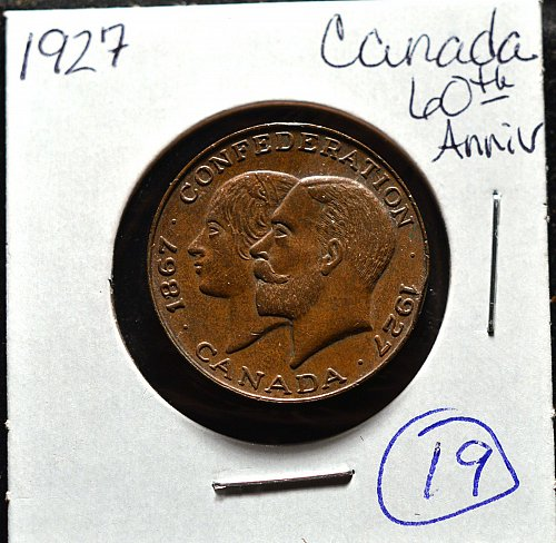 1927 60th annv.king gesrge and victory medal