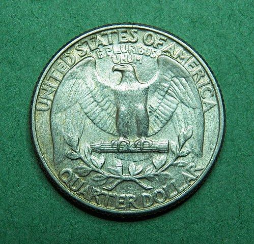 1932 P Washington Quarter Almost Uncirculated Coin   d37