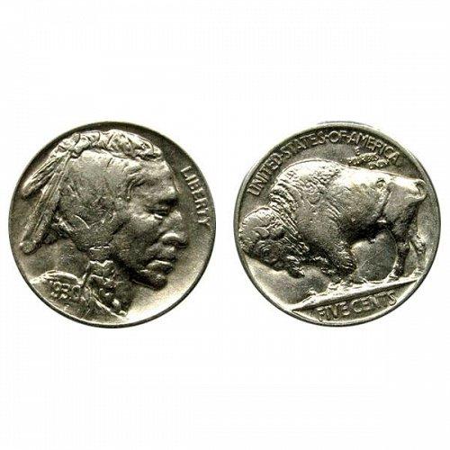 1930 Buffalo Nickel - AU