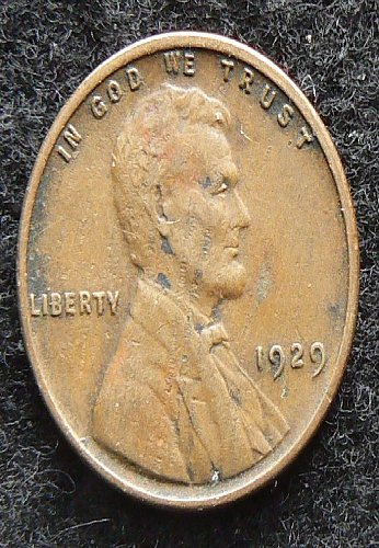 1929 P Lincoln Wheat Cent (VF-30)