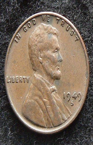 1949 S Lincoln Wheat Cent (EF-40)