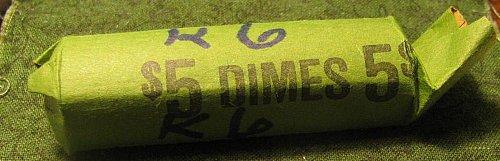 50 mercuryDimes#k-6 20's thru 40's few Rossy'sWIN 1 roll, take  5% off 2nd roll-