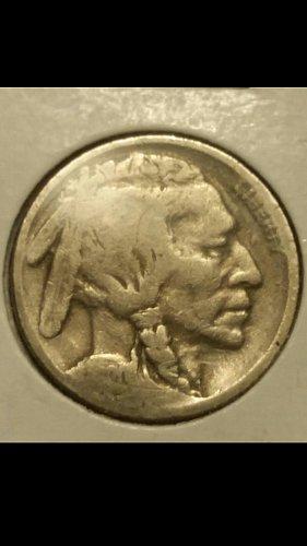1920 buffalo nickel  (2 feathers )