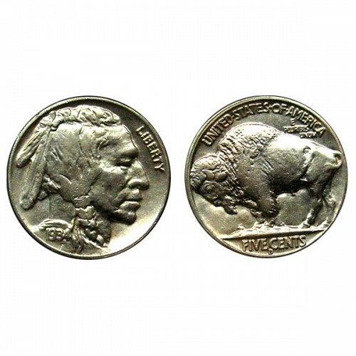 1934 D Buffalo Nickel - Choice BU