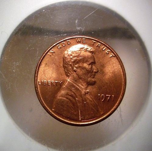 1971 Lincoln Cent Small Cents – Nice Penny
