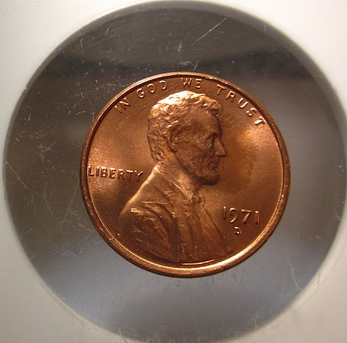 1971 D Lincoln Cent Small Cents – Nice Penny