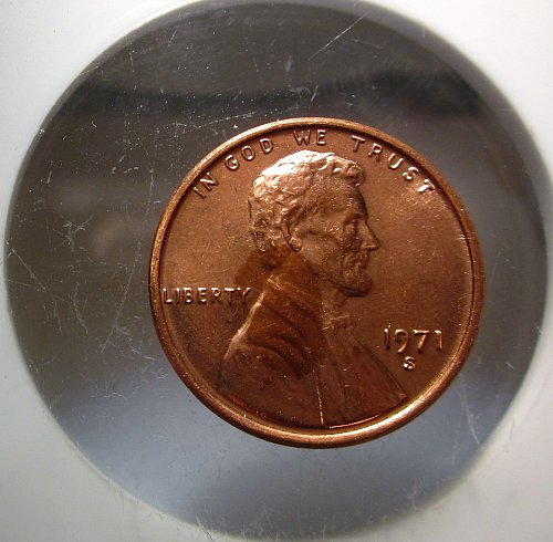 1971 S Lincoln Cent Small Cents – Nice Penny