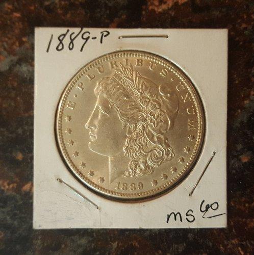 1889 Morgan Silver Dollar - MS