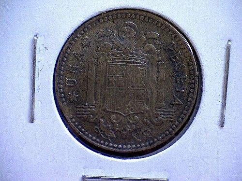 1953 (63) SPAIN ONE PESETA