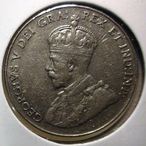 1927 Canada George V: Nice Nickel    CN-0004