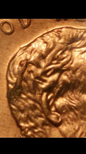 2008 penny Indian Abe(die-crack with cud)