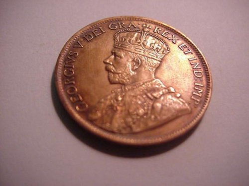 1919 canada large penny....nice