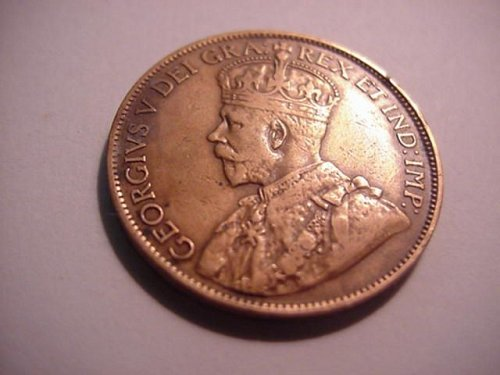 1912 canada large penny....nice