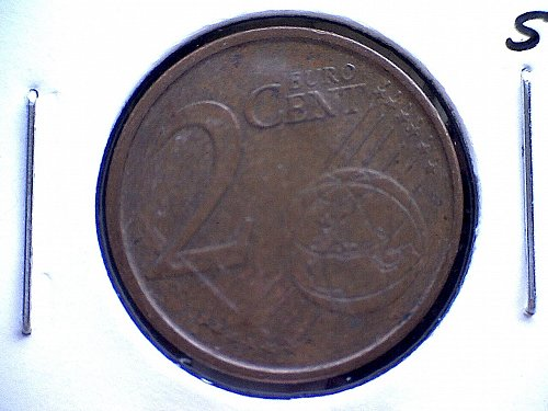 2000m  SPAIN TWO EURO CENT
