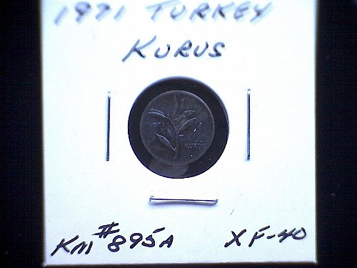 1971 TURKEY ONE KURUS