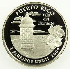 2009 S   PUERTO RICO  PROOF QUARTER