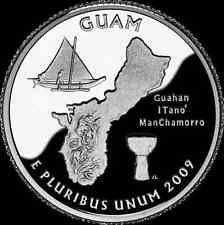 2009 S   GUAM  PROOF QUARTER