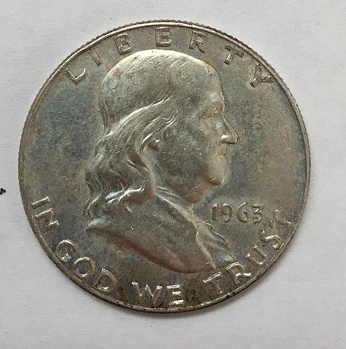 1963 Franklin Half Dollar