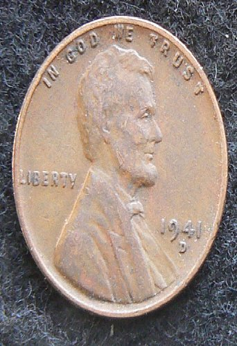 1941 D Lincoln Wheat Cent (VF-20)